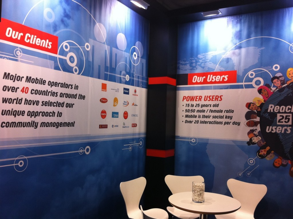 Stand Design MWC Mobile World Congress Interieur
